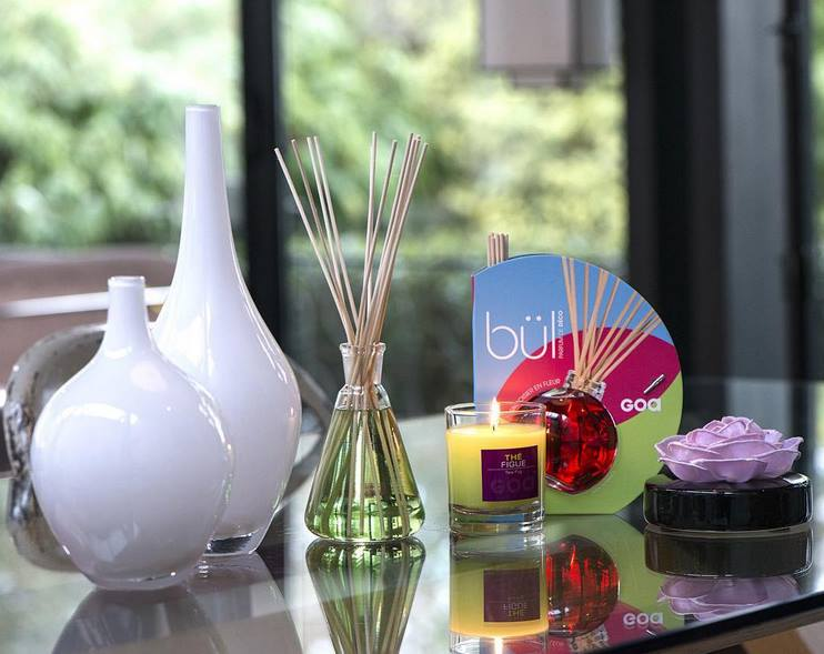 difuzer, sviečka, goa, goaparfums, interiérový parfém, vôňa do bytu
